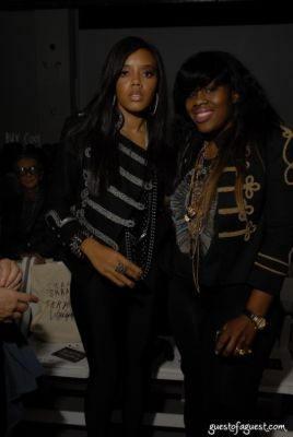 angela simmons-kanayo-ebi in Skrapper - William Quigley Fashion Show