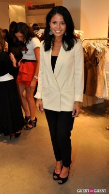 angie goff in FNO Party at Intermix Georgetown