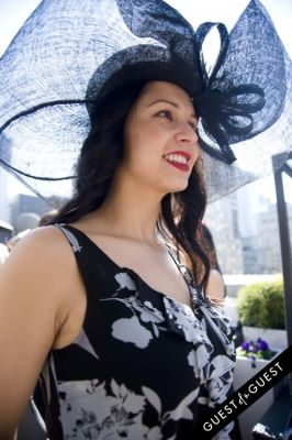 angie partida in Kentucky Derby at The Roosevelt Hotel