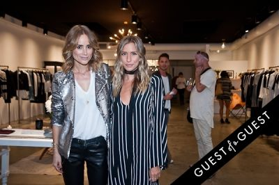 renee bargh in Anine Bing, Flagship Store Opening