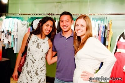 anisha ambardar in The Green Room NYC Presents a Trunk Show and Cocktails