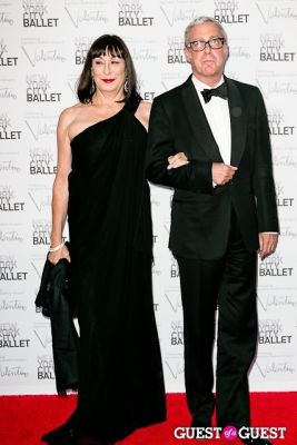 anjelica huston in New York City Ballet Fall Gala Celebrates Valentino