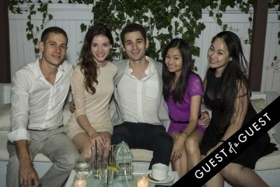 ryan brumberg in The Untitled Magazine Hamptons Summer Party Hosted By Indira Cesarine & Phillip Bloch