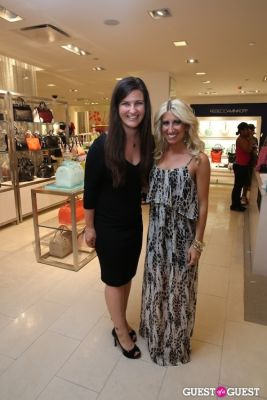 ann priftis in Abby Modell Celebrates Window Installation at Bloomingdale's