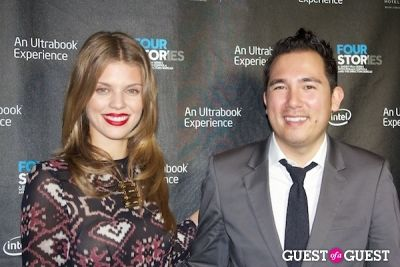 "annalynne mccord in W Hotels, Intel and Roman Coppola ""Four Stories"" Film Premiere"