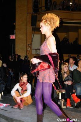 anna behrend in Richie Rich's NYFW runway show