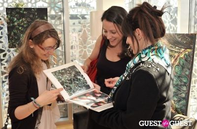 candace fremder in Anna Coroneo Mechanical Botanical trunk show