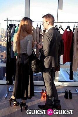 ben ekstrom in Vogue & Escada Party