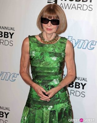 anna wintour in The 15th Annual Webby Awards