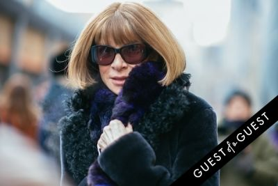 anna wintour in NYFW Street Style Day 8