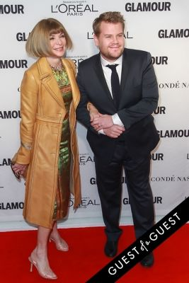 anna wintour;-james-corden in Glamour Magazine Women of the Year Awards