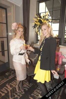 Socialite Michelle-Marie Heinemann hosts 6th annual Bellini and Bloody Mary Hat Party sponsored by Old Fashioned Mom Magazine