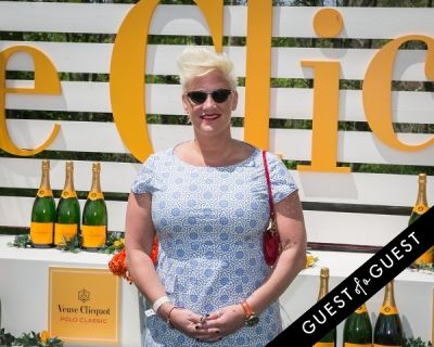anne burrell in Veuve Clicquot Polo Classic 2014
