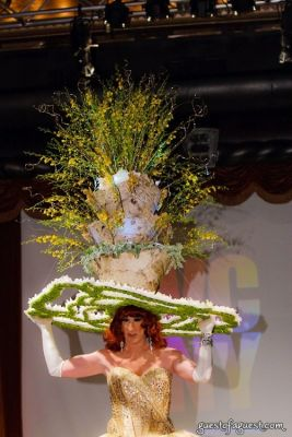 anne tique in VCNY - Tulips & Pansies- A Headdress Affair - Runway and Backstage