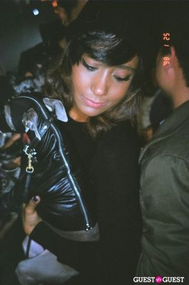 annette lamothe-ramos in VICE's 2012 Fashion Issue Party