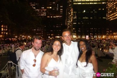 annie moonien in Diner en Blanc NYC 2013