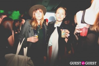 annie woods in The Kills x Lovecat Magazine Party