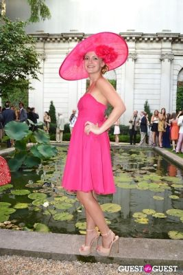annika connor in The Frick Collection's Summer Soiree