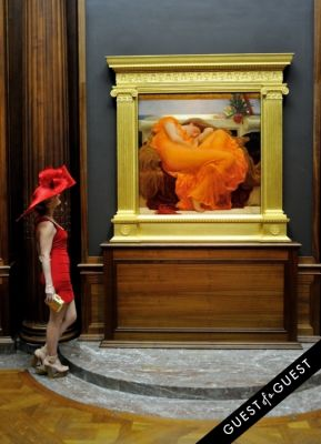 annika connor in Frick Collection Flaming June 2015 Spring Garden Party
