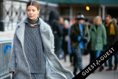 annina mislin in NYFW Street Style Day 5
