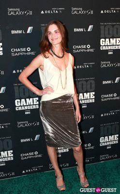 anouck lepere in 2011 Huffington Post and Game Changers Award Ceremony