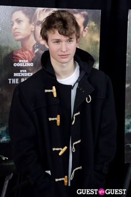 ansel elgort in The Place Beyond The Pines NYC Premiere