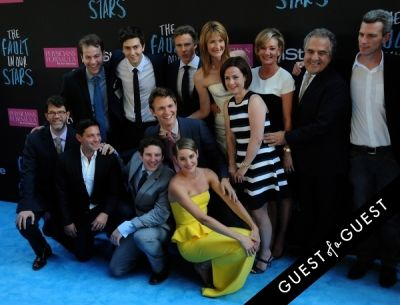 ansel elgort in The Fault In Our Stars Premiere