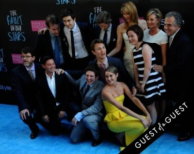 scott neustadter in The Fault In Our Stars Premiere