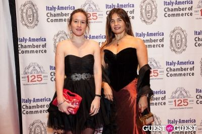 antoinette botarelli in Italy America CC 125th Anniversary Gala