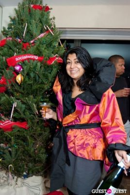 aparna mukherjee in Holiday Cocktail Party
