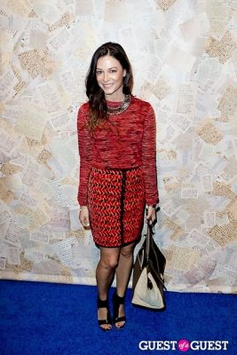 april hennig in Alice and Olivia Presentation