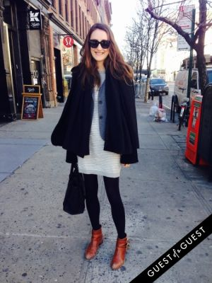 arabella hill in NYC Street Style Winter 2015