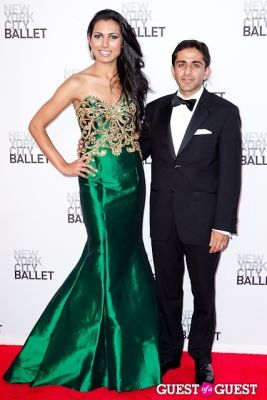 aradhna taneja in New York City Ballet's Fall Gala