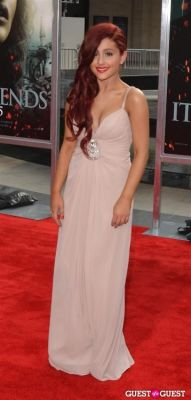 ariana grande in Harry Potter And The Deathly Hallows Part 2 New York Premiere