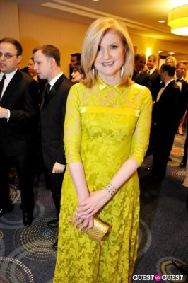 arianna huffington in The White House Correspondents' Association Dinner 2012