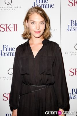 arizona muse in Blue Jasmine Premiere