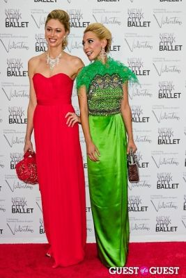 stella maria-matzari in New York City Ballet Fall Gala Celebrates Valentino
