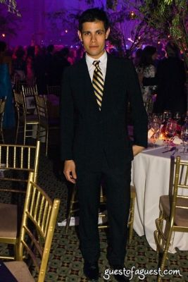 francisco jaimes in El Museo's Gala