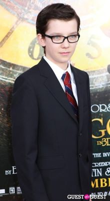 asa butterfield in Martin Scorcese Premiere of