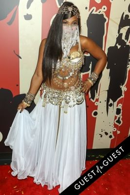 ashanti in Heidi Klum's 15th Annual Halloween Party