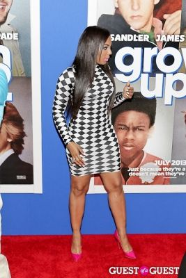 ashanti shequoiya-douglas in Grown Ups 2 premiere