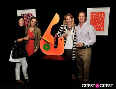 ashely dowden in Young Art Enthusiasts Inaugural Event At Charles Bank Gallery