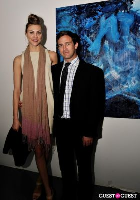 ashley flynn in Conor Mccreedy - African Ocean exhibition opening