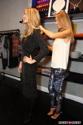 natalie decleve in Natty Style at Cynthia Rowley Private Shopping Event