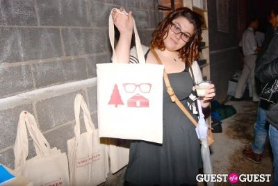 ashley k.-goodwin in Warby Parker Holiday Spectacle Bazaar Launch Party