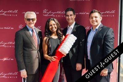 nick lara in Unforgettable Smile Ribbon Cutting Ceremony