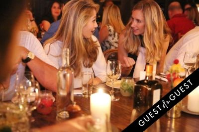 ashley simko in COINTREAU & GUEST OF A GUEST HOST AN END OF SUMMER SOIRÉE AT GEMMA