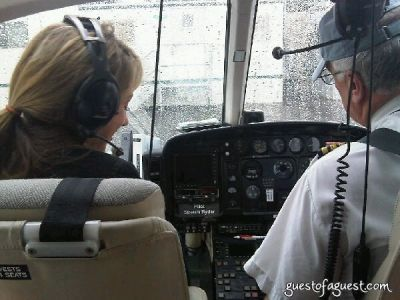 ashley simko in Ventura Helicopter Ride To The Hamptons