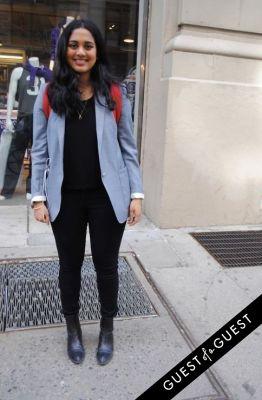 ashy venkatrajulu in NYU Street Style 2015