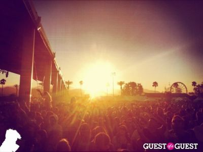 at martin-solveig-set in Coachella Weekend One Festival & Atmosphere